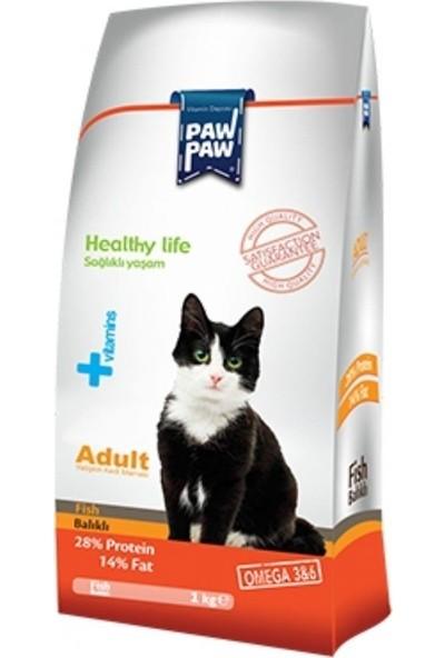Paw Paw Balık Etli Yetişkin Kedi Maması 15 kg