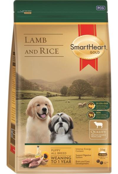 SmartHeart Gold Kuzu Etli Yavru Köpek Maması 3 kg