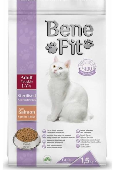 Benefit Somonlu Kısırlaştırılmış Kedi Maması 12 kg