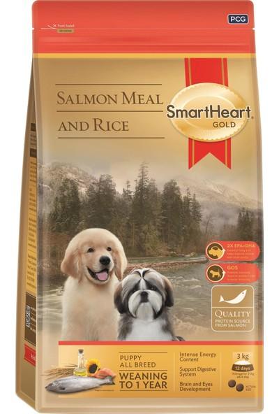 SmartHeart Gold Somonlu Yavru Köpek Maması 15 kg