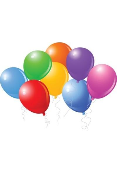 Pi İthalat Renkli Balon – 100 Adet