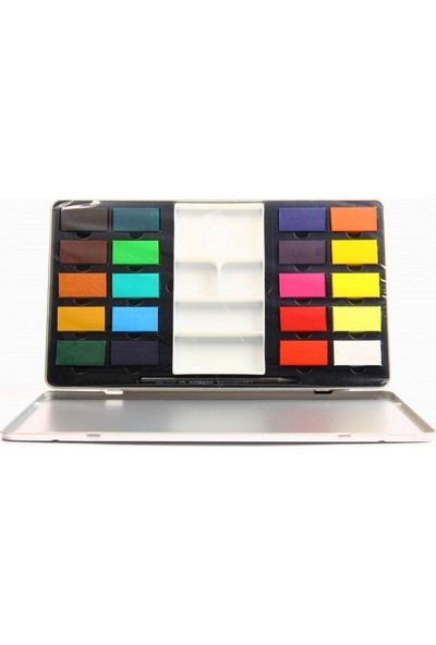 Cretacolor 20 Renk Pigment Tablet Suluboya