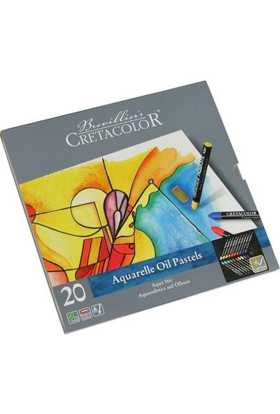 Cretacolor Sulandırılabilen Yağlı Pastel 20 Renk