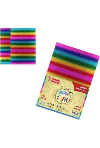 Mikro Gökkuşağı Eva 10 Lu Paket 4 Renk