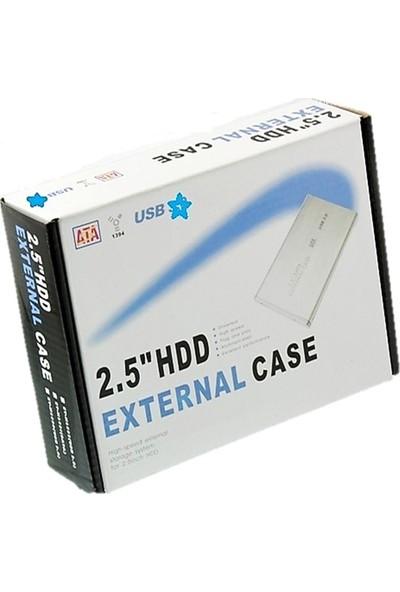 NewNet Alüminyum Kasa 2.5'' USB 2.0 SSD ve Notebook Harddisk Kutusu