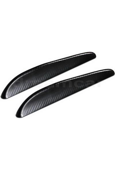 Pilot Aero-Flaps Siyah Karbon 248X36Mm Esnek Spoiler Koruyucu 2'Li 20595