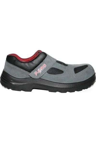 Pars 114 S1P Çelik Burunlu ve Çelik Tabanlı Süet Yazlık İş Ayakkabısı