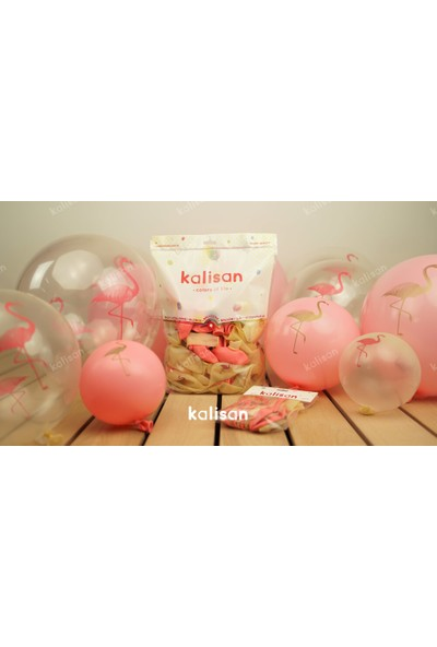 Kalisan Flamingo Balon 25 Adet