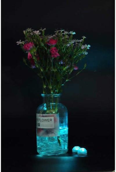 Sesay Kumandalı 6'lı Nargile Led Işığı Su Geçirmez