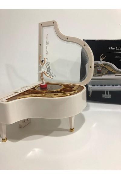Bent Balerinli Mini Piyano Müzik Kutusu