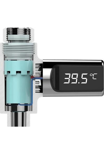 Trendelektro Led Monitörlü Mutfak Ve Duş Su Akış Sıcaklığı Ölçer Termometre