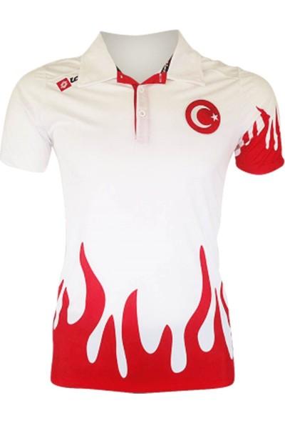 Lotto Polo Yaka Fire JS Milli Takım Tişört R5605