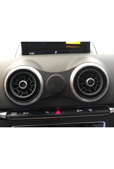 Dizayn Hediye Audi A3 Telefon Tutucu Metal Siyah