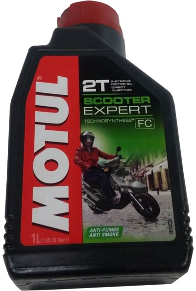 Motul İki Zamanlı Motor Yağı Motul Scooter Expert 2T 1Lt