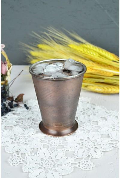 Osmanlı Bakır Şerbet Bardağı