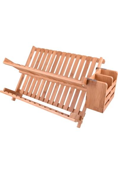 Bambum Enda Kaşıklıklı Bulaşık Sepeti Lüx