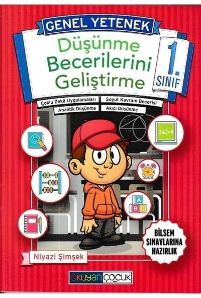 Okuyan Çocuk Yayınları Genel Yetenek 1.Sınıf Düşünme Becerileri Bilsem Hazırlık