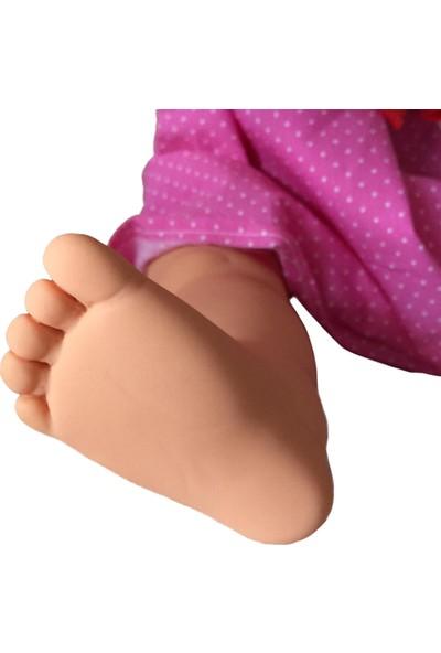 Gamze Oyuncak Konuşan Et Bebek 60 cm Oyun Arkadaşı Sarı