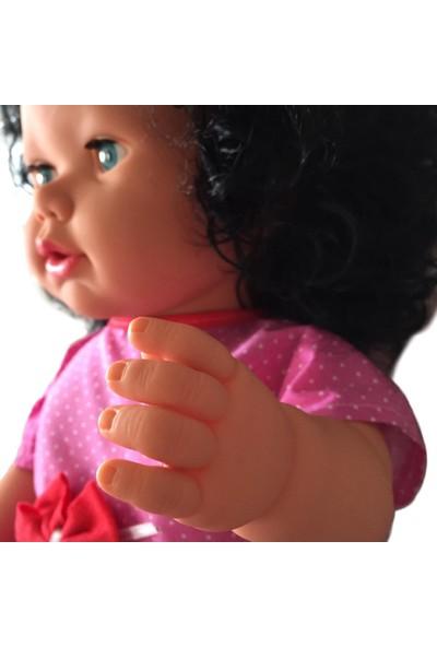 Gamze Oyuncak Konuşan Et Bebek 60 cm Oyun Arkadaşı Siyah