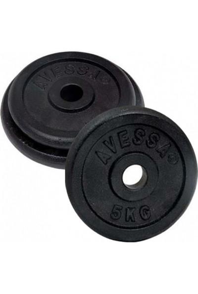 Avessa 5 kg Siyah Döküm Plaka 1 Adet