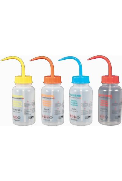 Isolab Piset - Orta Boyunlu - Baskılı - Etanol - 500 ml