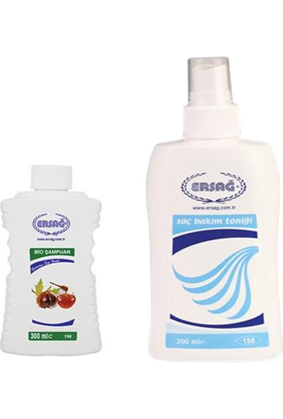 Ersağ Saç Bakım Toniği + Bio Şampuan
