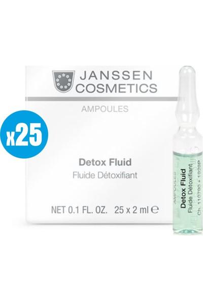 Janssen Cosmetic Detox Fluid - 25 Adet x 2ml