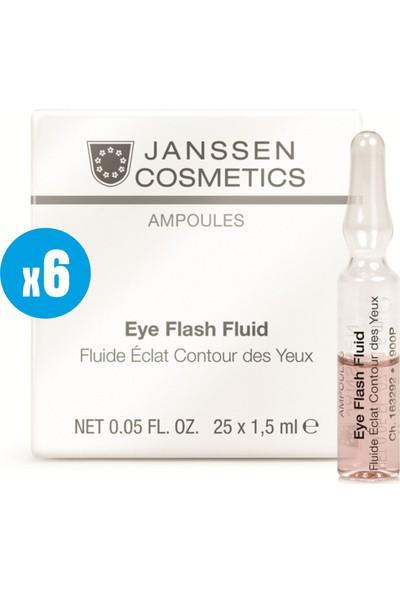 Janssen Cosmetic Eye Flash Fluid - 6 Adet x 2ml