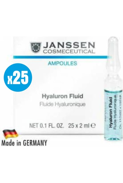 Janssen Cosmetic Hyaluron Fluid Demanding Skin - 25 Adet x 2ml