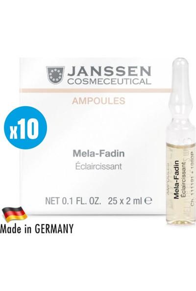 Janssen Cosmetic Melefadin Skinlightening - 10 Adet x 2ml
