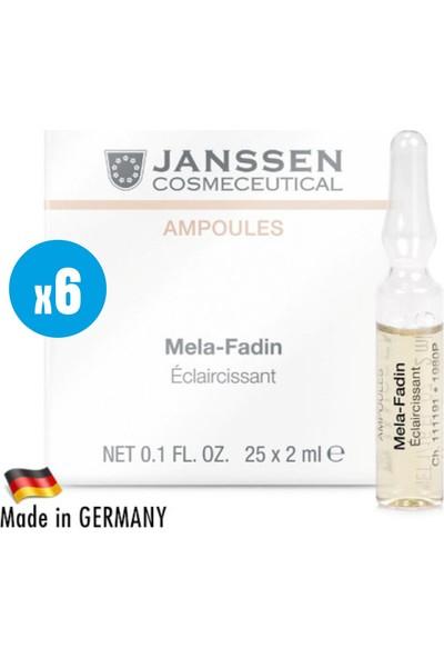 Janssen Cosmetic Melefadin Skinlightening - 6 Adet x 2ml