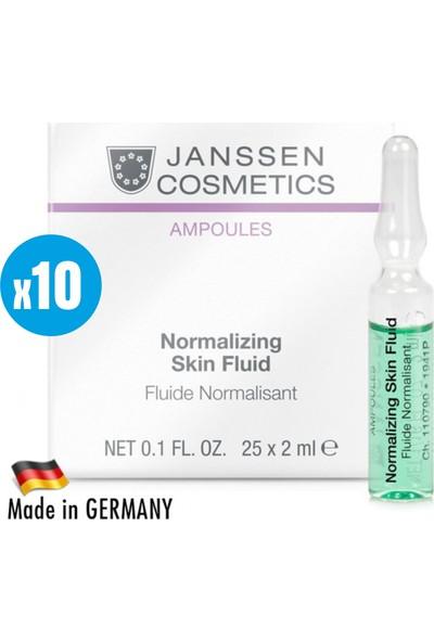 Janssen Cosmetic Normalazing Skin Fluid - 10 Adet x 2ml