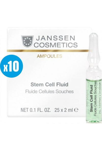 Janssen Cosmetic Stem Cell Cellues Sfluid ( Anti Aging) - 10 Adet x 2ml