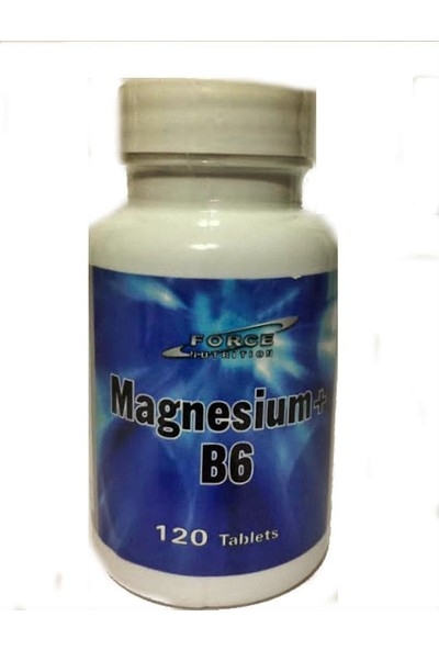 Force Nutrition Magnesium+B6 120 Tablet