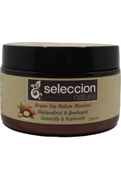 Seleccion Naturel Argan Özlü Saç Maskesi 250 ml