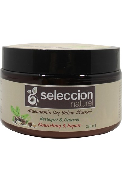 Seleccion Naturel Macademia Özlü Saç Maskesi 250 ml