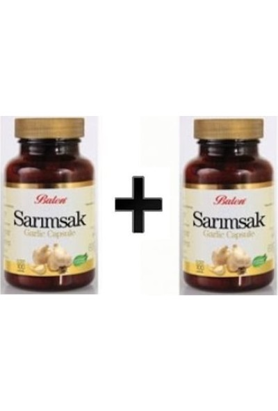 Balen Sarımsak Garlic 300 mg 100 Kapsül 2 Adet