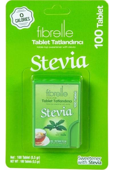 Fibrelle Stevia Tatlandırıcı 100 Tablet