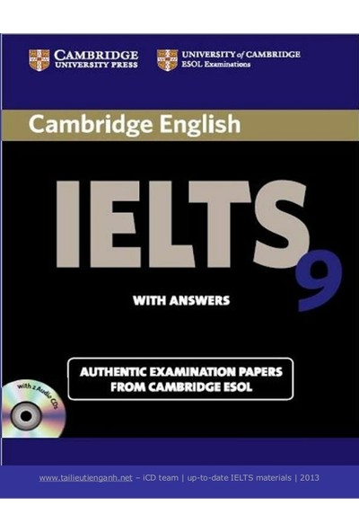 Cambridge Ielts 9 Student'S Book With Answers Ielts Practice Tests