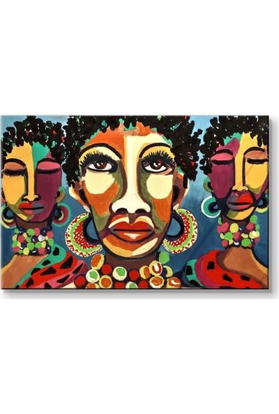 Piyero Afrikalı Kadınlar Kanvas Tablo