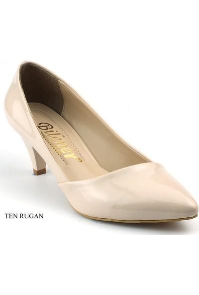 Bilener Stiletto 4Cm Kadın Topuklu Ayakkabı Yastık Taban 400