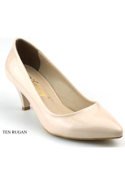 Bilener Stiletto 4Cm Kadın Topuklu Ayakkabı Yastık Taban 401