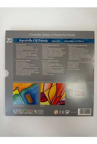 CretaColor Aquarelle Oil Pastels