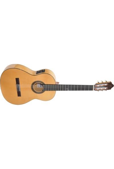 Camps Ce-500-S Elektro Klasik Flamenco Gitar