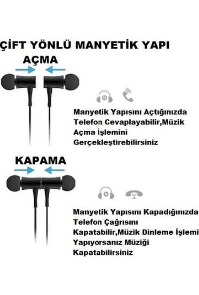 Gaoye HT3 Clear Sound Teknoloji Manyetik Bluetooth Kulaklık - Siyah