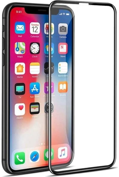YK Design iPhone X 5D Kavisli Temperli Tam Cam Ekran Koruyucu