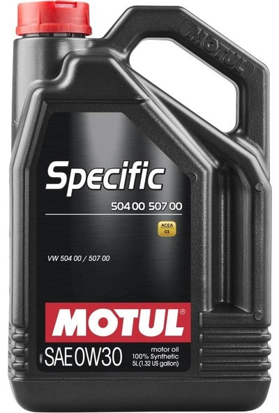 Motul Specific 504 00 507 00 0W30 5 Litre
