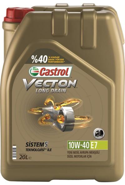 Castrol Vecton Longdrain 10W40 E7 20 Litre
