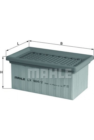 Lx 984/2 Knecht/Mahle Bmw R 1200 Hava Filtresi