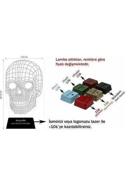 3D Light Kuru Kafa 3D Aydınlatma